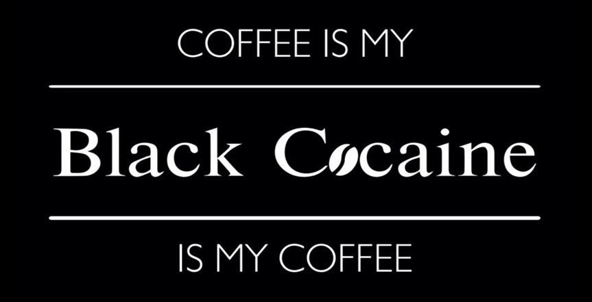 Логотип заведения Black Cocaine (Блек Кокаїн)