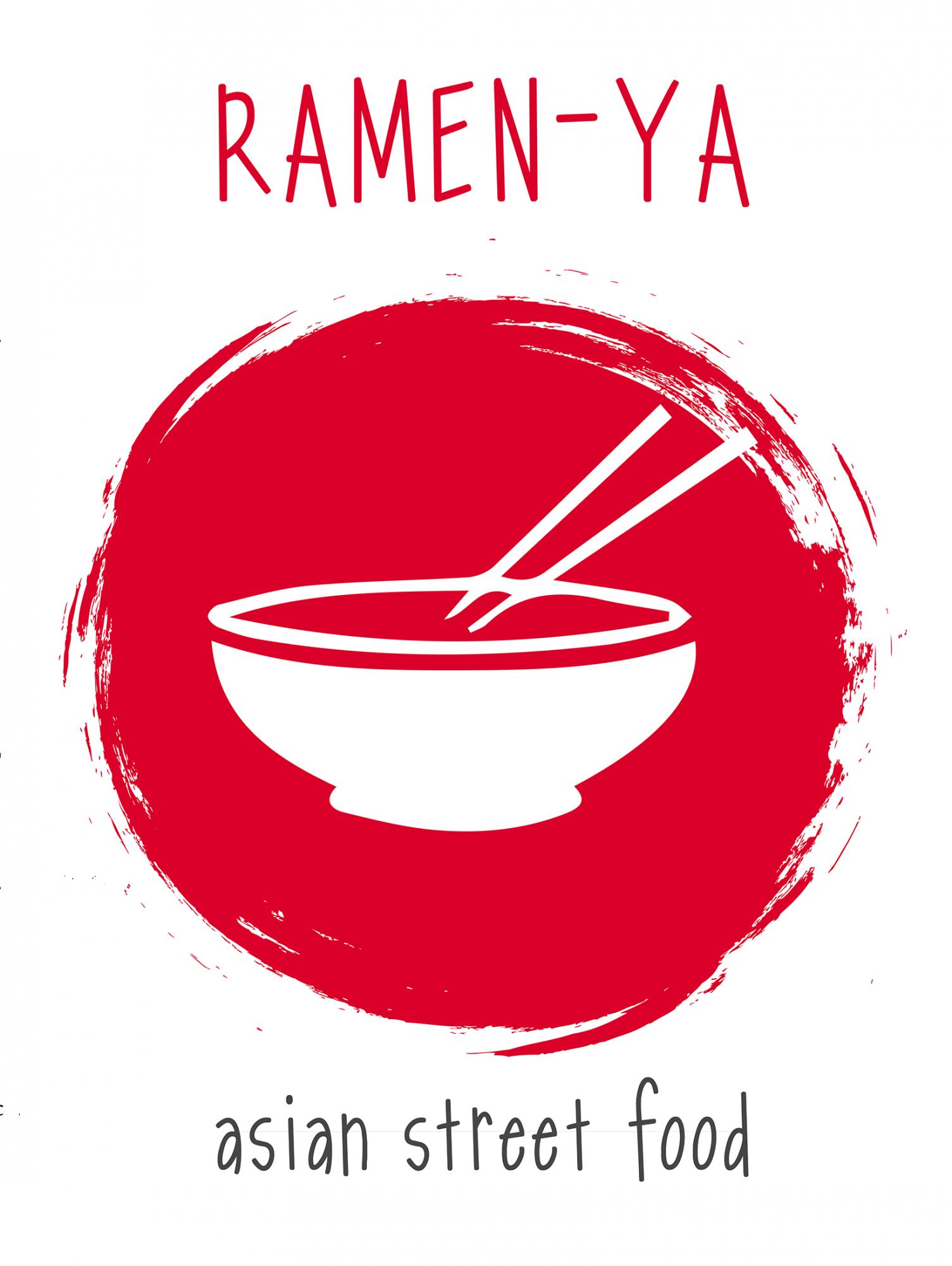 Логотип заведения Рамен-Я