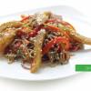 Гречана локшина з морським окунем і овочами Сакура