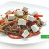 Гречана локшина з сиром Фета та овочами Сакура