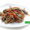 Гречана локшина з телятиною і овочами Сакура