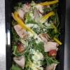 Фреш-салат з шинкою та помідорами чері Челентано