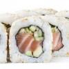 Каліфорнія з копченим лососем в кунжуті Sushi Master